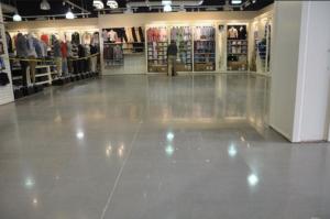 Pros on the asphalt flooring.