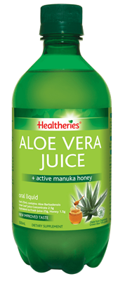 Aloe Vera is rich in Vitamins and has Anti substances.