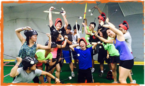 The thrilling activity of the game archery