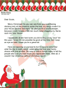 History of children and youth of Santa letter