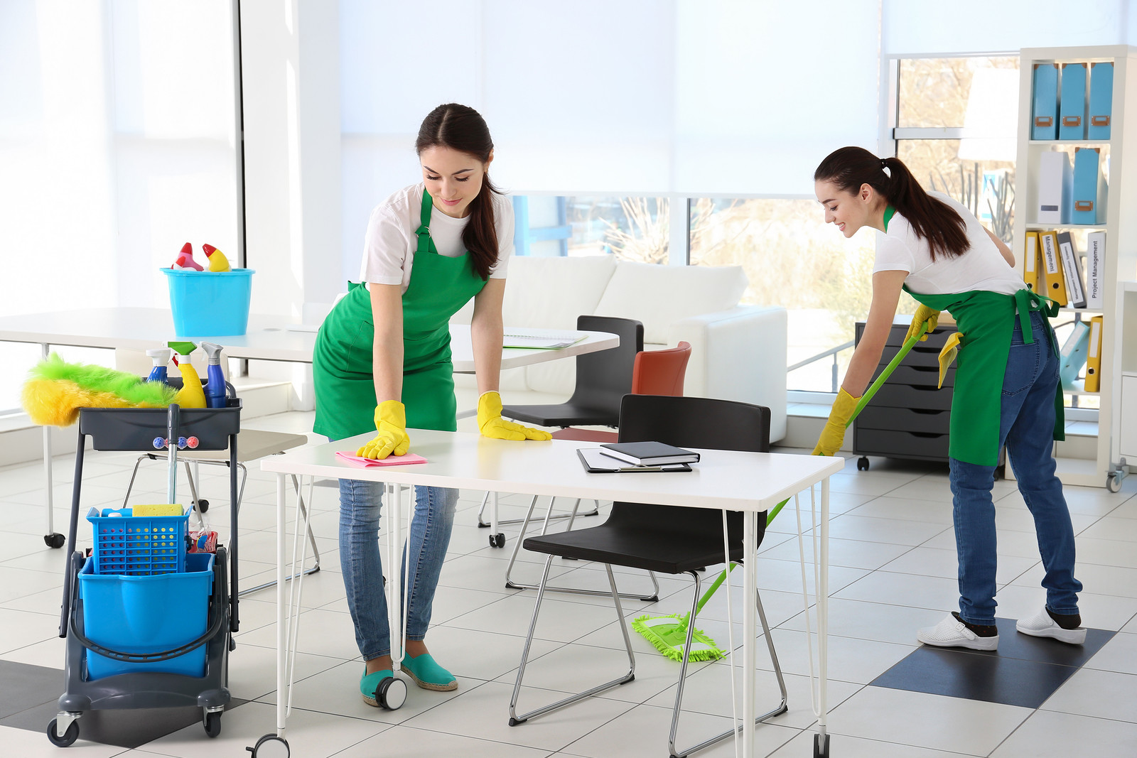 The amazing advantages of hiring a proficient cleaning company for our house and offices.
